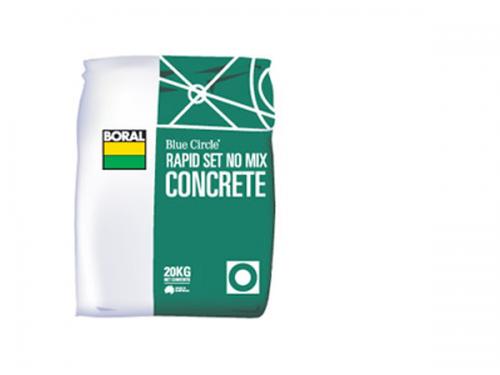 Rapid Set No Mix Concrete 20kg Bag Parklea Sand And Soil