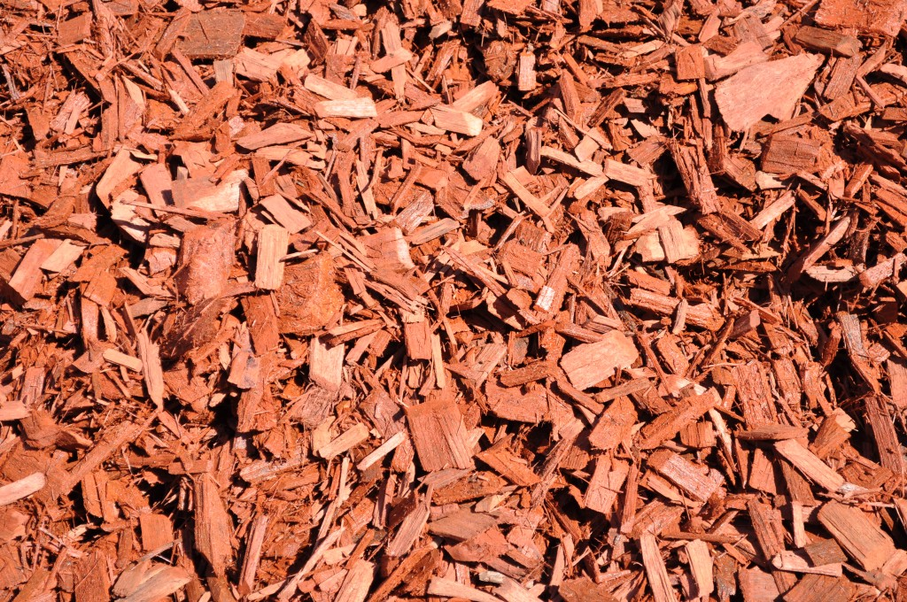 Decorative Wood Chips ~ Simpson red wood chip parklea sand and soil