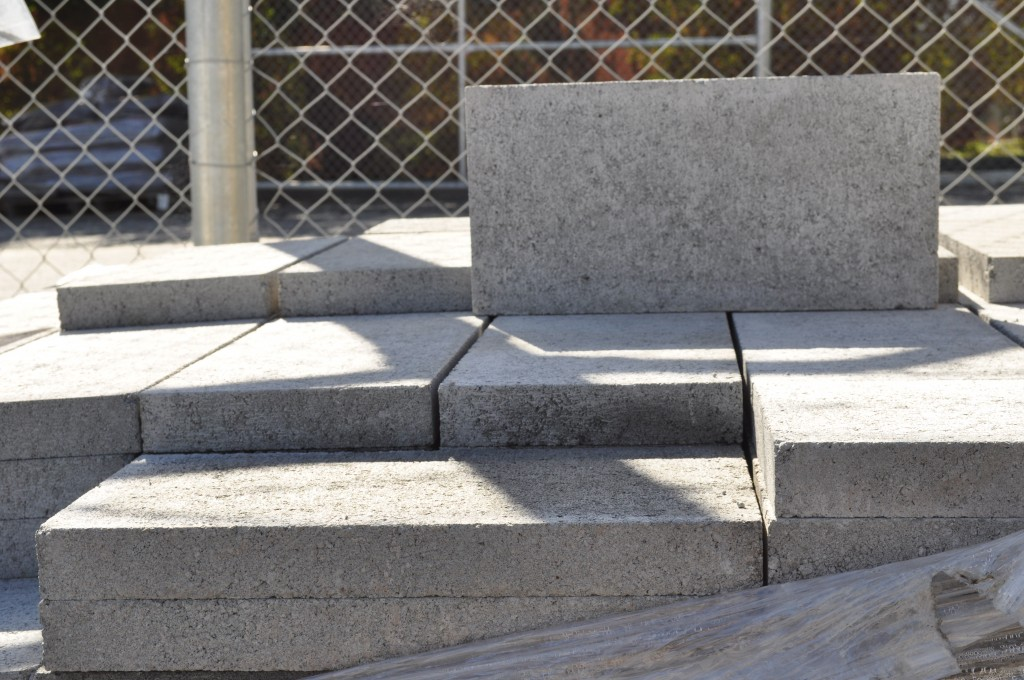 Besser Block Caps Grey 200mm Series Parklea Sand And Soil