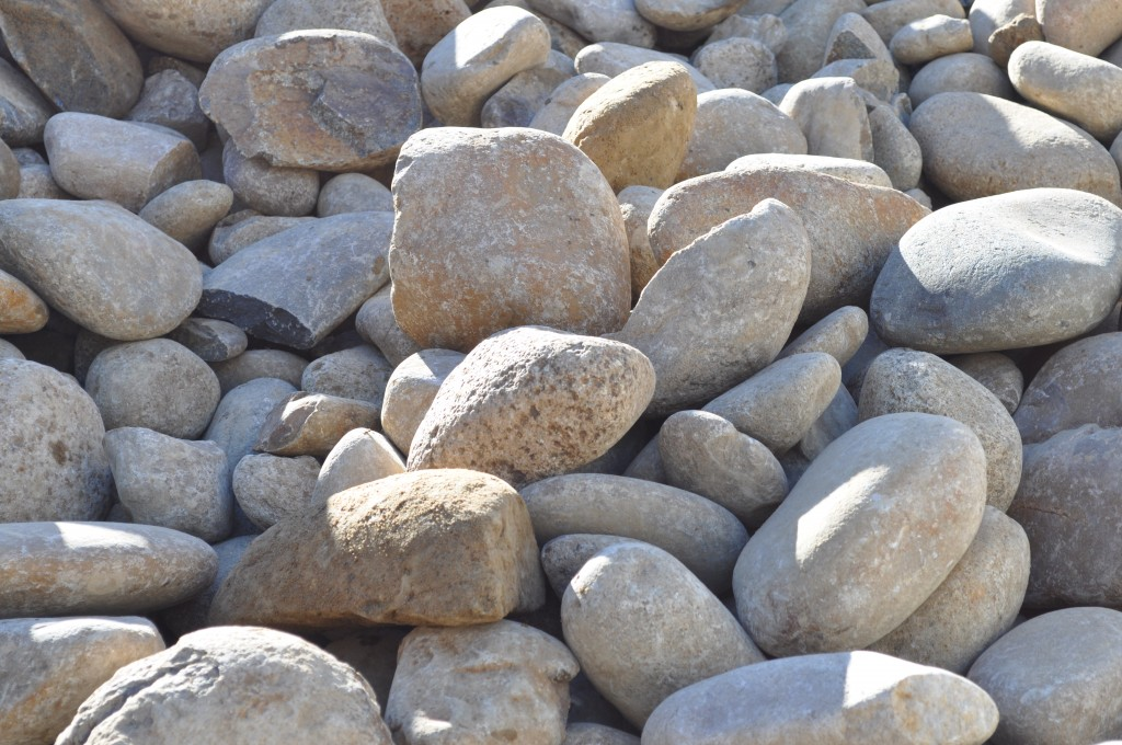 River pebbles lucky stones 75 150mm parklea sand and soil for What are river stones