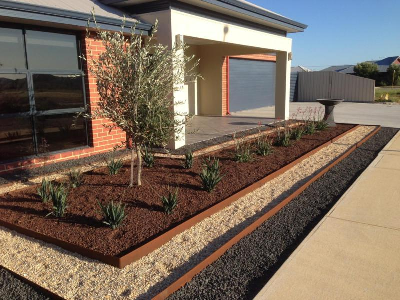 Redcor Steel Edging Lengths Parklea Sand And Soil